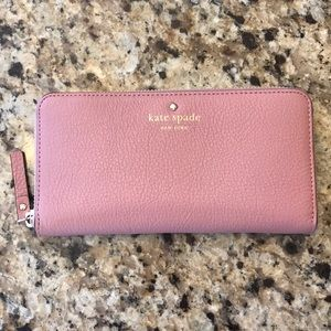Pink/Purple Kate Sapde Wallet